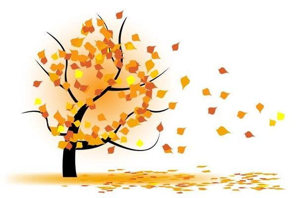 Arbre Automne Autumn Tree Clipart