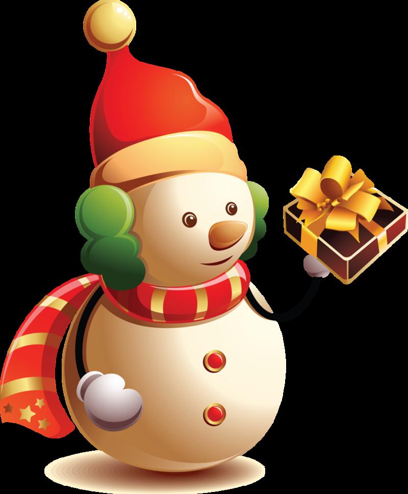 F te noel bonhommes de neige bonhomme cadeaux cadeaux de noel png - Clipart bonhomme de neige ...