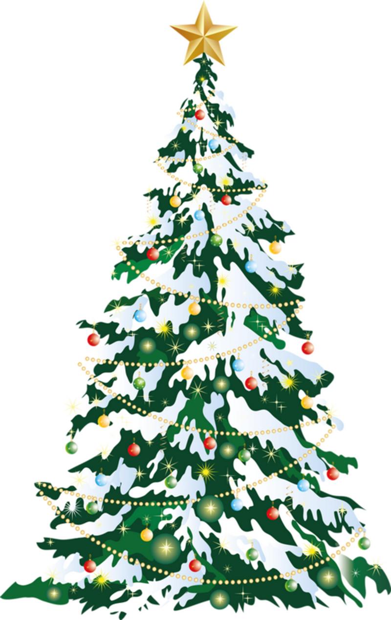 Noel toutes decos pour noel page 22 - Decoration sapin enneige ...