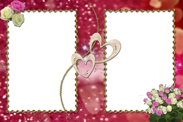Love Frame Png Transparent Images 1293: Cadres Encadrements Frame