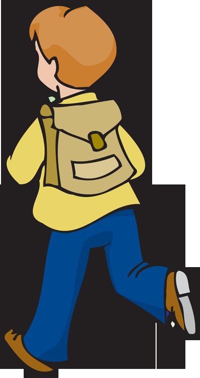 Ecolier ecolier - clipart écolier - rentrée des classes