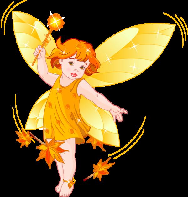 autumn fairy - fée d'automne