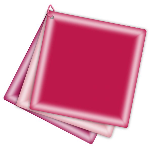 tag étiquette - fond rouge -