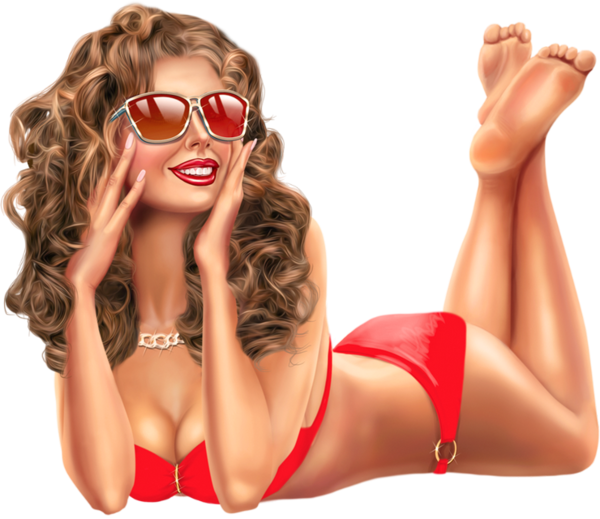 femmes maillot de bain plage mer océan png