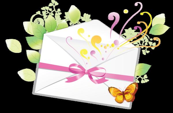 enveloppe papillon pour créas - rubans