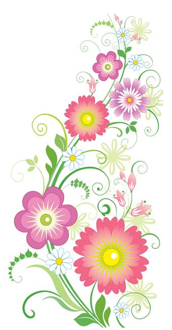 Fonds d ecrans printemps page 4 - Dessin de fleur en couleur ...
