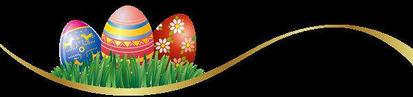 oeufs de pâques-déco-barre oeufs de Pâques-easter