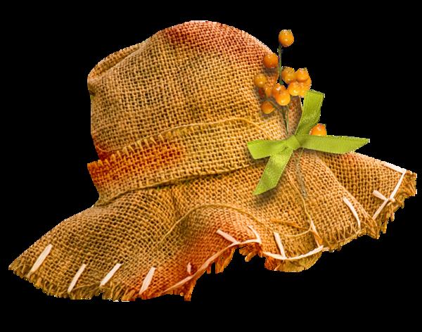 chapeau de paille -  hat -  hut -png -