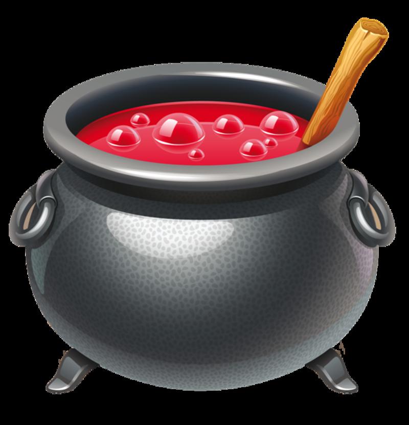 free halloween clipart witch cauldron - photo #12