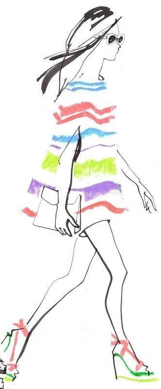 Berühmt femme-dessin jolie femme-silhouette femme LQ04