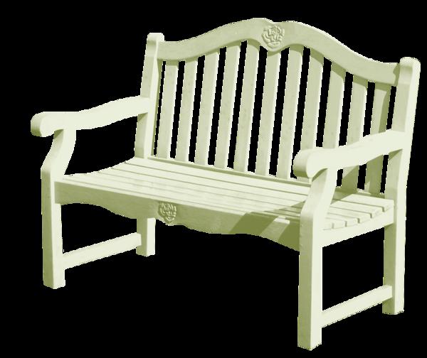 banc bois vert clair - decos jardin - png - tube