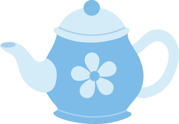 THEIERE - TEA POT - CLIPART - PICTURE