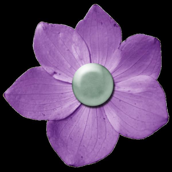 decoration fleur - bouton fleur - scrapbooking