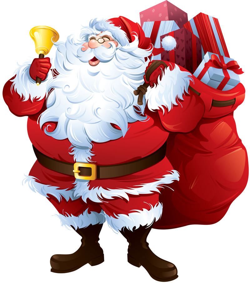 P re noel santa claus clipart tube p re noel - Clipart pere noel gratuit ...