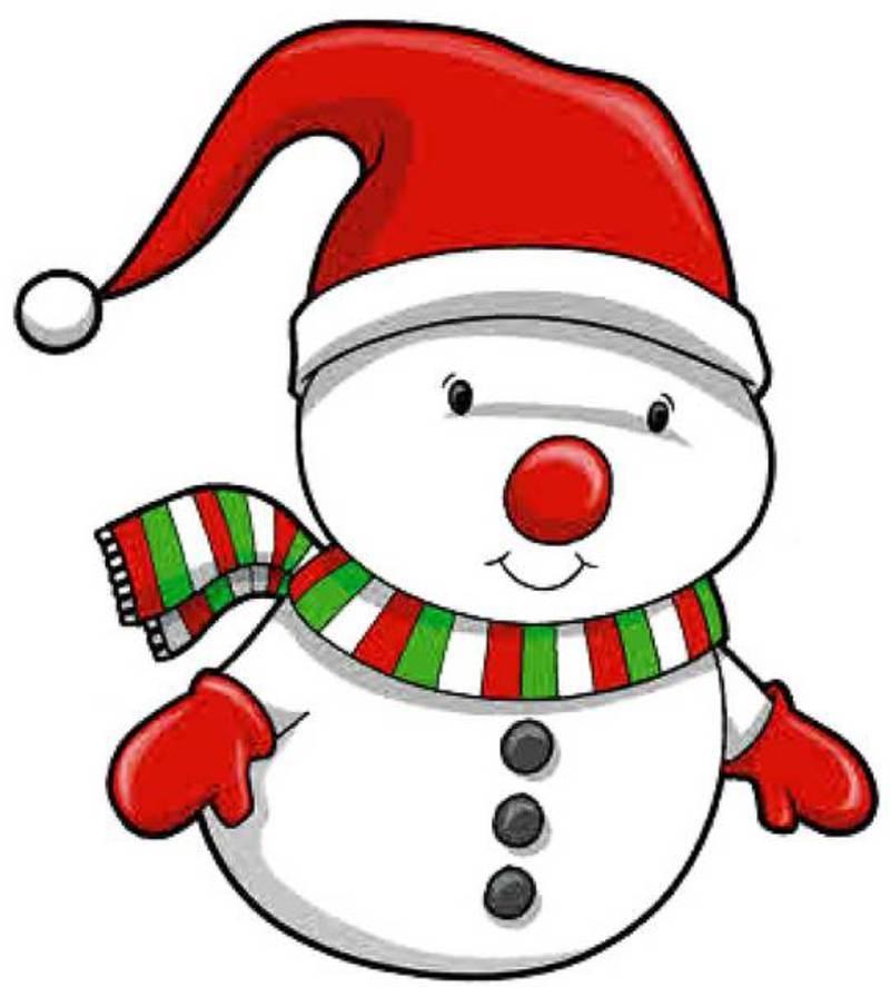 Image bonhommes de neige snowman - Clipart bonhomme de neige ...