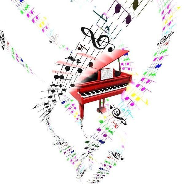 piano queue partition instrument musique notes