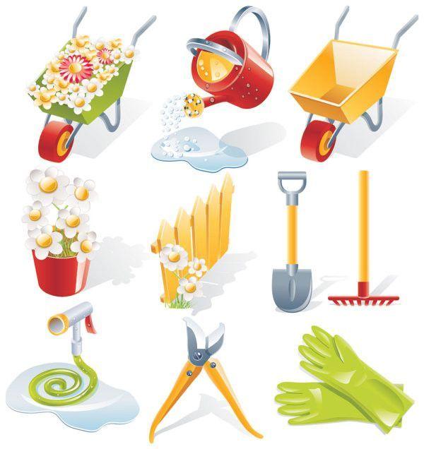Gardeningtool outils de jardinage decos jardins - Accessoire de jardinage ...
