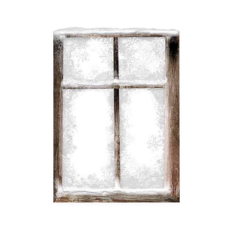 Tube hiver tube neige fen tre givr e for Fenetre hiver