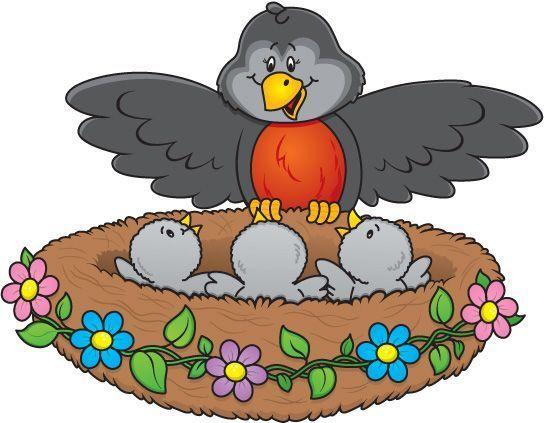 Bird nest clip art - photo#26