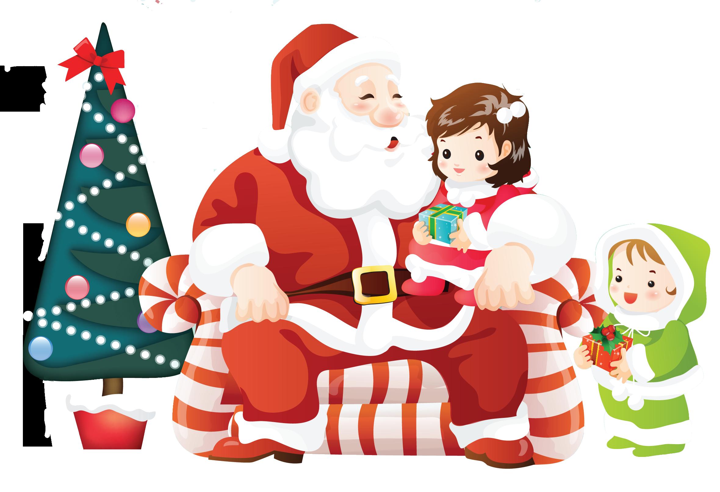 Boîte De Cadeau Le Jour De Noël Clip Art: Cadeaux De Noel