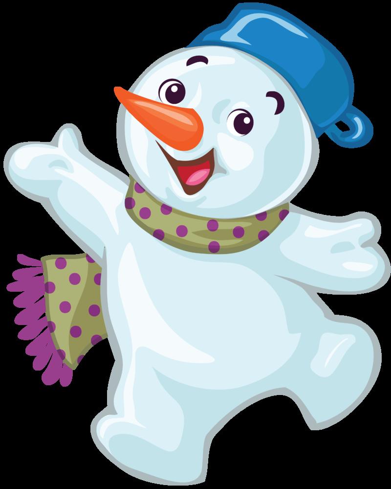 Bonhomme de neige snowman schneemann - Clipart bonhomme de neige ...