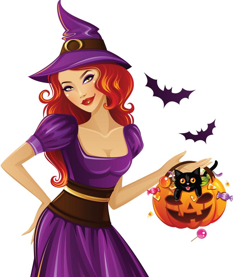 Halloween gifs fonds ecran images page 9 - Image de sorciere ...